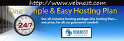 VEBNEST offer 24/7 web solutions since 2007 to its customers around th